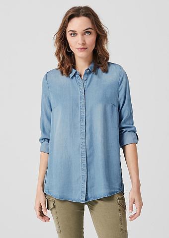 S.OLIVER Marškiniai iš Lyocell-Denim