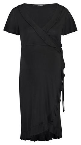 SUPERMOM Suknelė »Wrap Black Nurs«