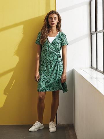 NAME IT Leopardenprint Wickel suknelė