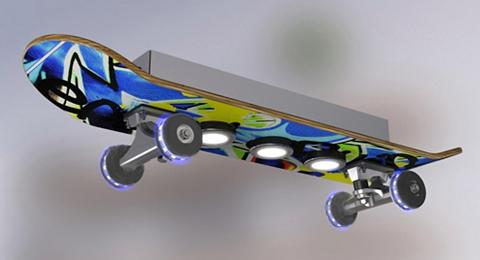 EVOTEC LED Deckenleuchte»EASY CRUISER GRAFFIT...