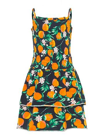 NAME IT Pfirsichprint keletas sluoksnių suknel...