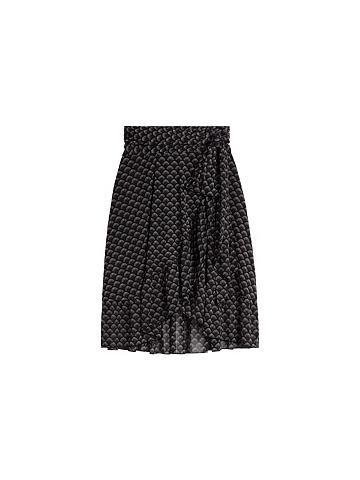 SANDWICH Sujuosiamas sijonas su klostės