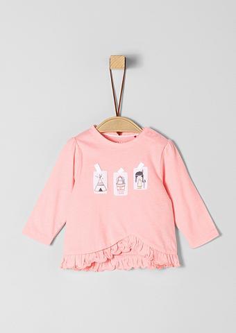 S.OLIVER JUNIOR Marškinėliai ilgomis rankovėmis su klo...
