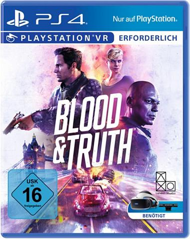 PlayStation 4 Blood & Truth VR