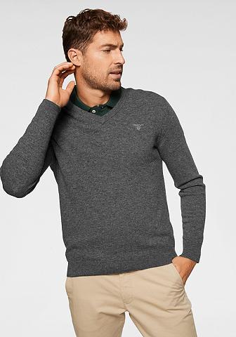 Gant V-Ausschnitt-Pullover iš grynos Lammwo...