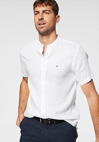 TOMMY HILFIGER Marškiniai »SLIM SOLID LINEN SHIRT«