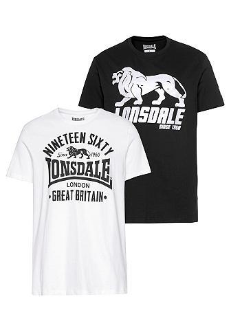 LONSDALE Marškinėliai »BYLCHAN« (Rinkinys 2 vnt...