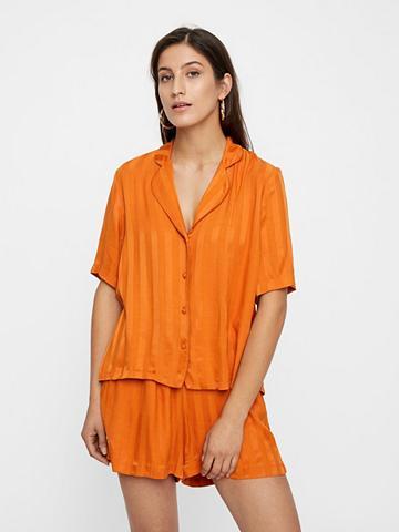 Y.A.S Dryžuota Pyjamastyle Marškiniai