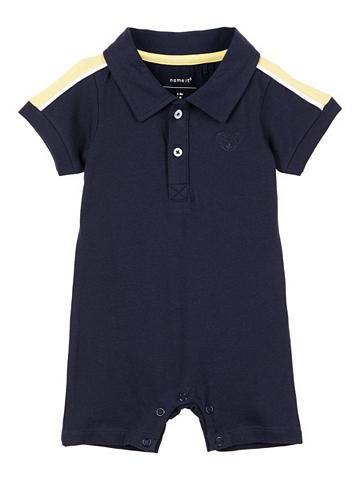 NAME IT Polo marškinėliai Vientisas apatinis t...