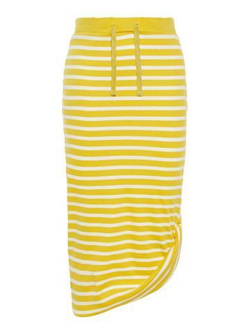 NAME IT Dryžuotas Maxi ilgio sijonas