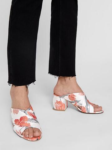 BIANCO Gėlių raštu sandalai