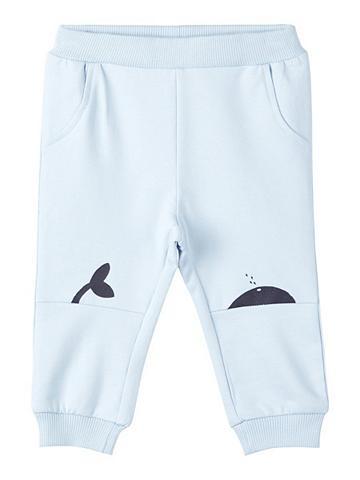 NAME IT Walfischprint Sportinio stiliaus kelnė...