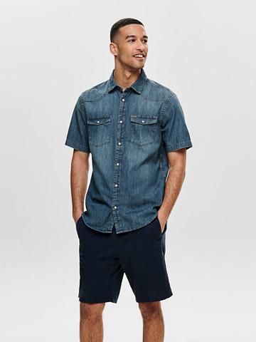 ONLY & SONS ONLY & SONS Džinsai marškiniai trumpom...