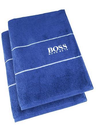 Hugo Boss Home Gästehandtuch »PLAIN 2-tlg.« (2-St) 40...