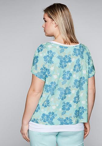 SHEEGO CASUAL Sheego du viename marškinėliai