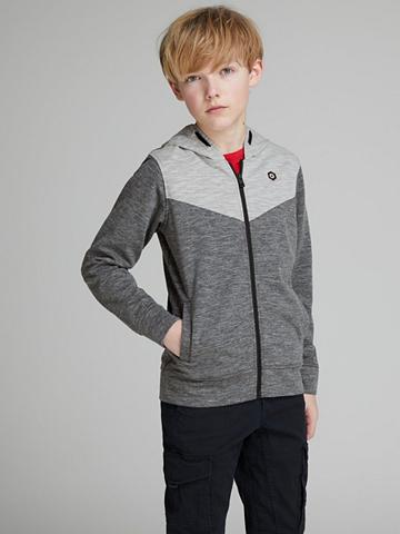 JACK & JONES Jack & Jones Block Boys Reißverschuss ...