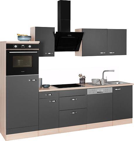 OPTIFIT Virtuvės baldų komplektas »Faro« su Ha...
