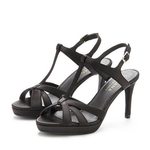 LASCANA High-Heel-Sandalette su nedidelis Plat...