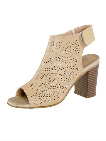 LIVA LOOP Liva Šalikas-mova sandalai su Klettrie...