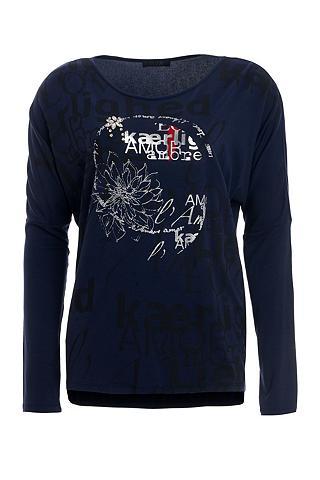 TUZZI Marškinėliai ilgomis rankovėmis »Navy ...