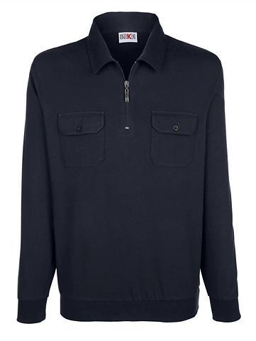 ROGER KENT Marškinėliai su apykaklė