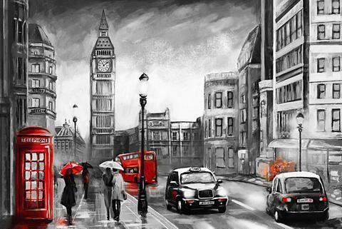 Places of Style Paveikslas ant drobės »London«