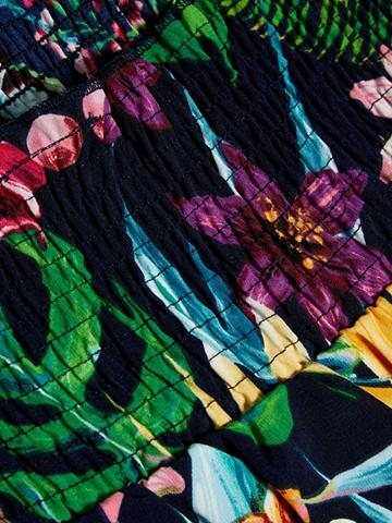 NAME IT Gėlių raštu ilga suknelė
