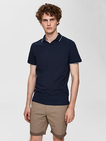 SELECTED HOMME Bio-Baumwoll Polo marškinėliai