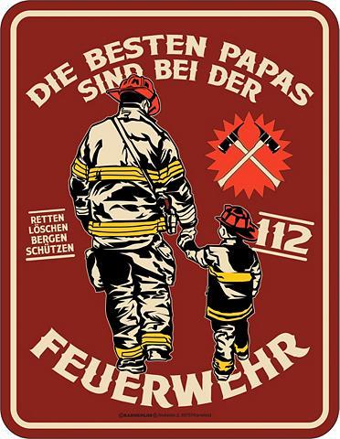 RAHMENLOS Paveikslas dėl den Feuerwehr-Papa
