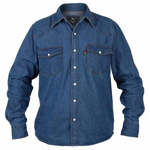 Duke Clothing Jeanshemd »Herren Kingsize Western Dži...