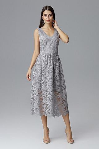 FIGL Suknelė su puikus nėriniai