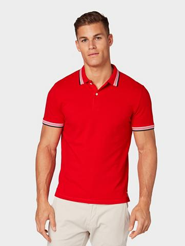 TOM TAILOR Marškinėliai »Poloshirt su abgesetzten...