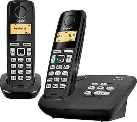 GIGASET »AL225 A Duo« Bevielis DECT-Telefon (M...