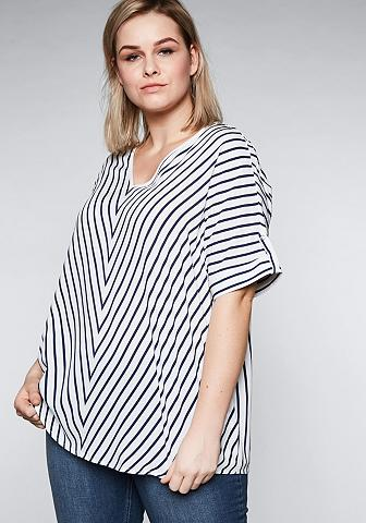 Sheego Tunika in Oversize-Form su Streifen