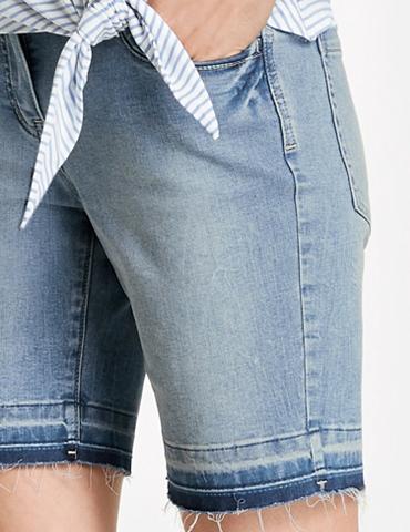 TAIFUN Kelnės »Jeans Šortai-bermudai Šortai T...