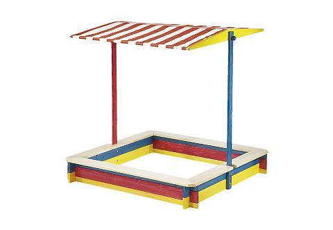 PINOLINO Smėlio dėžė su reguliuojama Dach »Luka...