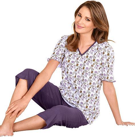Pižama su kapri kelnėm