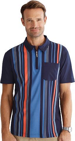 CLASSIC Polo marškinėliai su mehrfarbigem Stre...