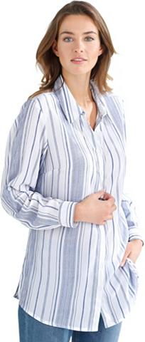 CLASSIC BASICS Ilgi marškiniai in schmeichelnder ilga...