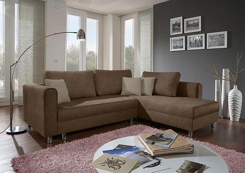 INOSIGN Kampinė sofa »Vitus153« su miegojimo f...
