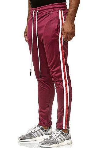 RUSTY NEAL Sportinės kelnės su coolen Akzentstrei...