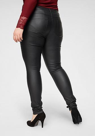 ONLY CARMAKOMA Skinny-fit-Jeans »Punk« su edel blizgu...