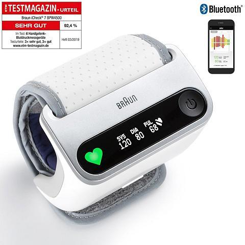 Braun Handgelenk-Blutdruckmessgerät BPW4500 ...