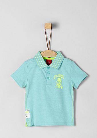 S.OLIVER JUNIOR Polo marškinėliai su Neon-Details dėl ...