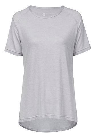 ENDURANCE ATHLECIA Marškinėliai su extra aukštas Viskosea...