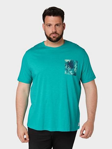 TOM TAILOR Marškinėliai Marškinėliai su Print-Bru...