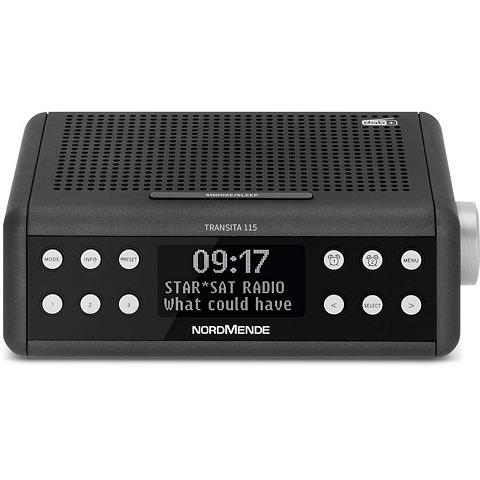 Nordmende DAB+/UKW-Uhrenradio Snooze Funktion Sl...