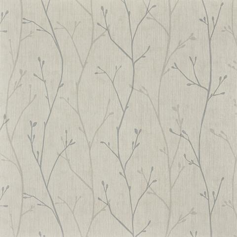 BODENMEISTER Tapetai »Floral Grau/Greige« 1005 x 05...