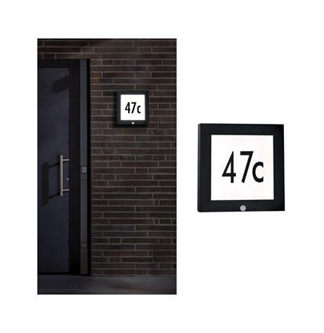 Paulmann LED Außen-Wandleuchte »Panel 30x30 cm ...