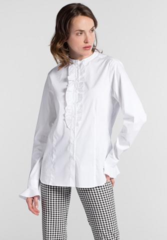 ETERNA Ilgomis rankovėmis marškinėliai palaid...